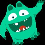 Pippo-Illustration | Pippo aus dem All | Die Deutsch Lern App für Kinder der 3. und 4. Klasse | Die Deutsch Lernapp für das Tablet